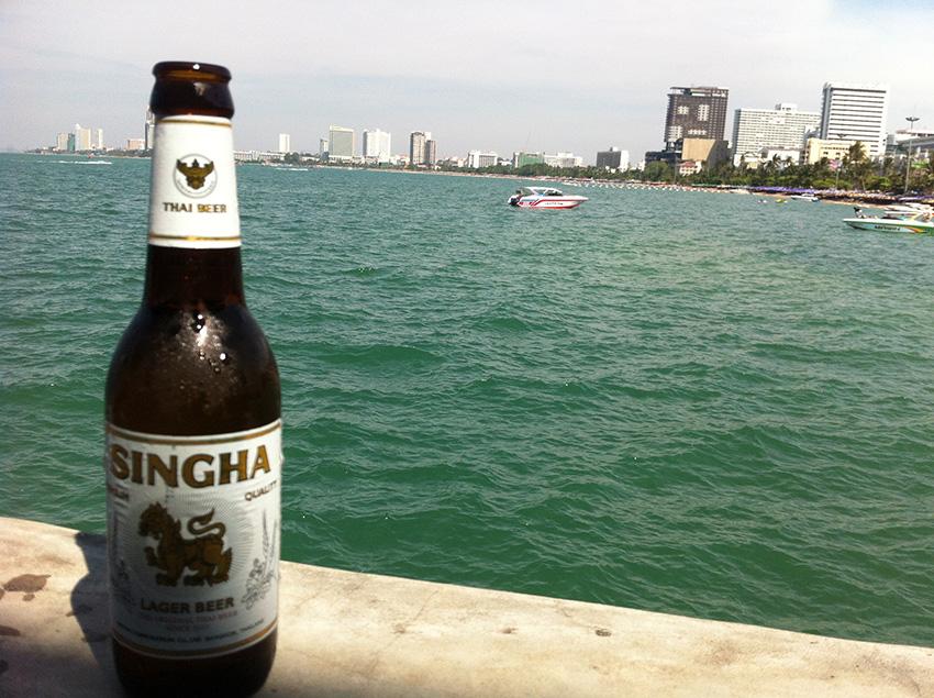 Pattaya – Thailand. Vandaag is de dag dat ik over me heen heb laten lopen.