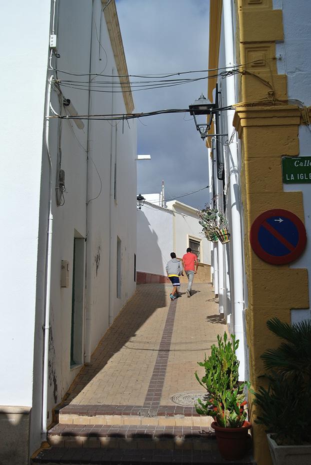 Almeria, Vaste land