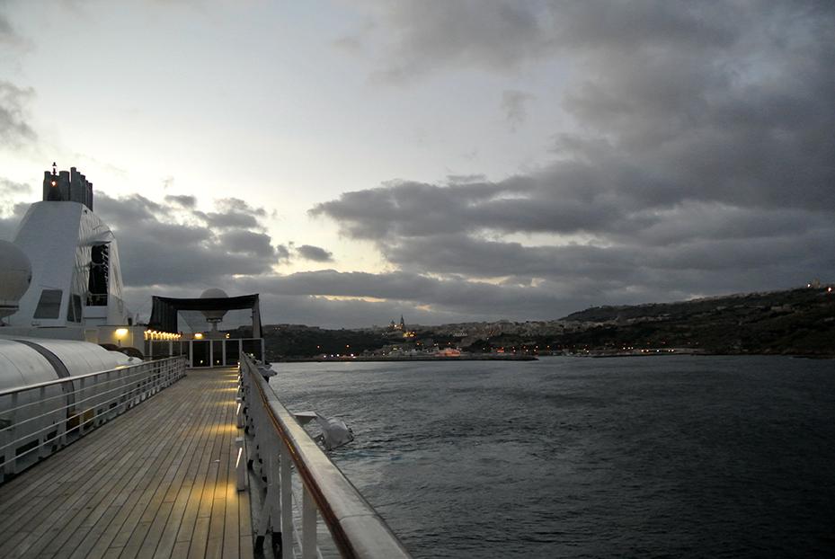 Gozo, stilte na de storm!