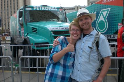 Lima – Peru. Aankomst Dakar Rally 2012
