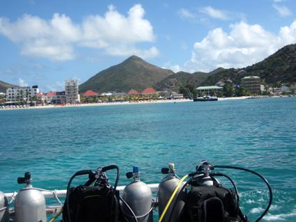 Philipsburg – Sint Maarten, een duikje maken