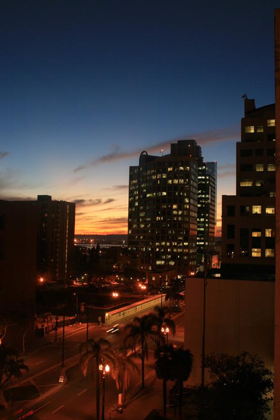 aansluiting in San Diego