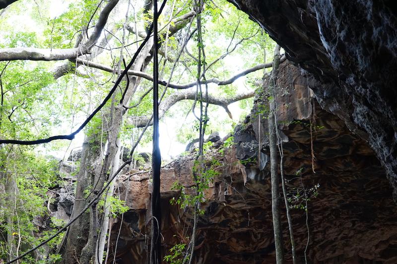 De lavatunnels van Undara, Australië
