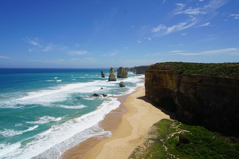 De twaalf apostelen, Australië
