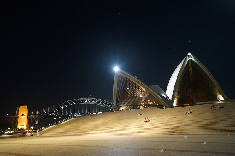 Sydney, Australië. We zijn er.