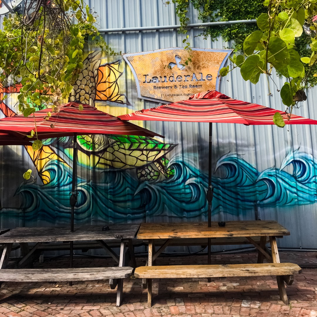Fort Lauderdale   LauderAle voor goed bier en yoga.